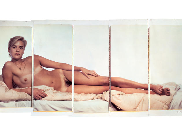 (Photograph: © Chuck Close; courtesy Pace Gallery)