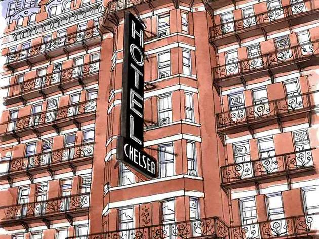 Chelsea Hotel (© El Horno at Handsom Franks)