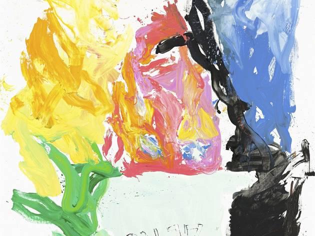 Georg Baselitz ('Licht wil raum mecht hern' 2013)
