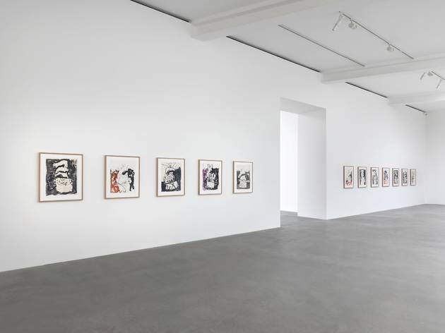 Georg Baselitz (Exhibition view)
