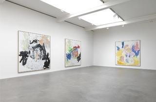 Georg Baselitz (Exhibition view)