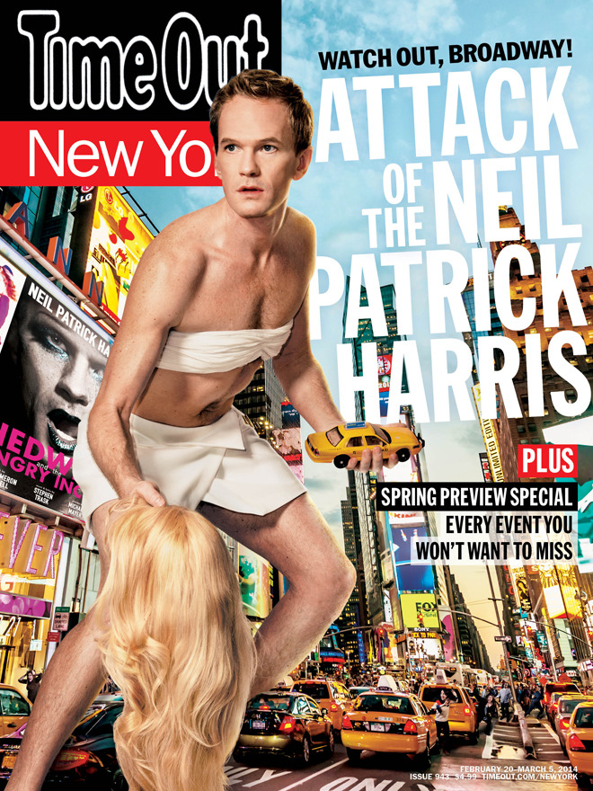 "Neil Patrick Harris interview: ""You might as well own the spotlight"""