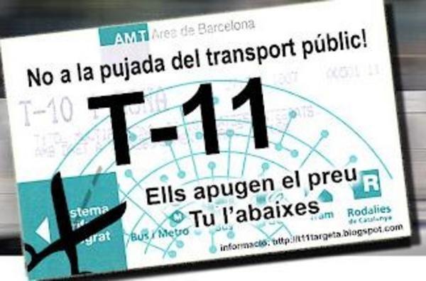 T-11 metro ticket