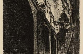 James Boswell ('The Fall of London: London Bridge', 1933)