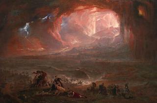 John Martin ('The Destruction of Pompei and Herculaneum', 1822 (restored 2011))