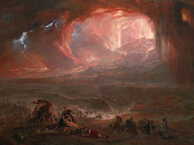 John Martin ('The Destruction of Pompei and Herculaneum', 1822 (restored 2011))