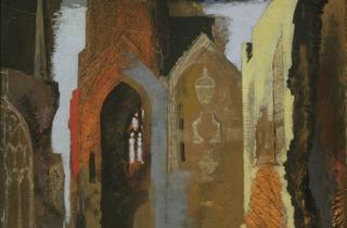 John Piper ('St Mary le Port, Bristol', 1940)