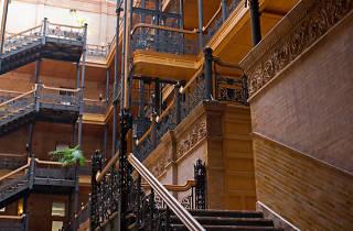 Bradbury Building.