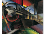 Ivo Pannaggi, Speeding Train (Treno in corsa), 1922