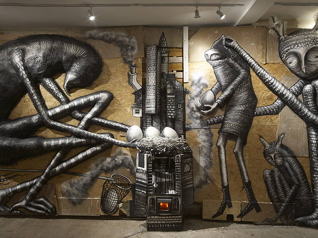 Phlegm (Installation view of 'The Bestiiary' at Howard Griffin Gallery)