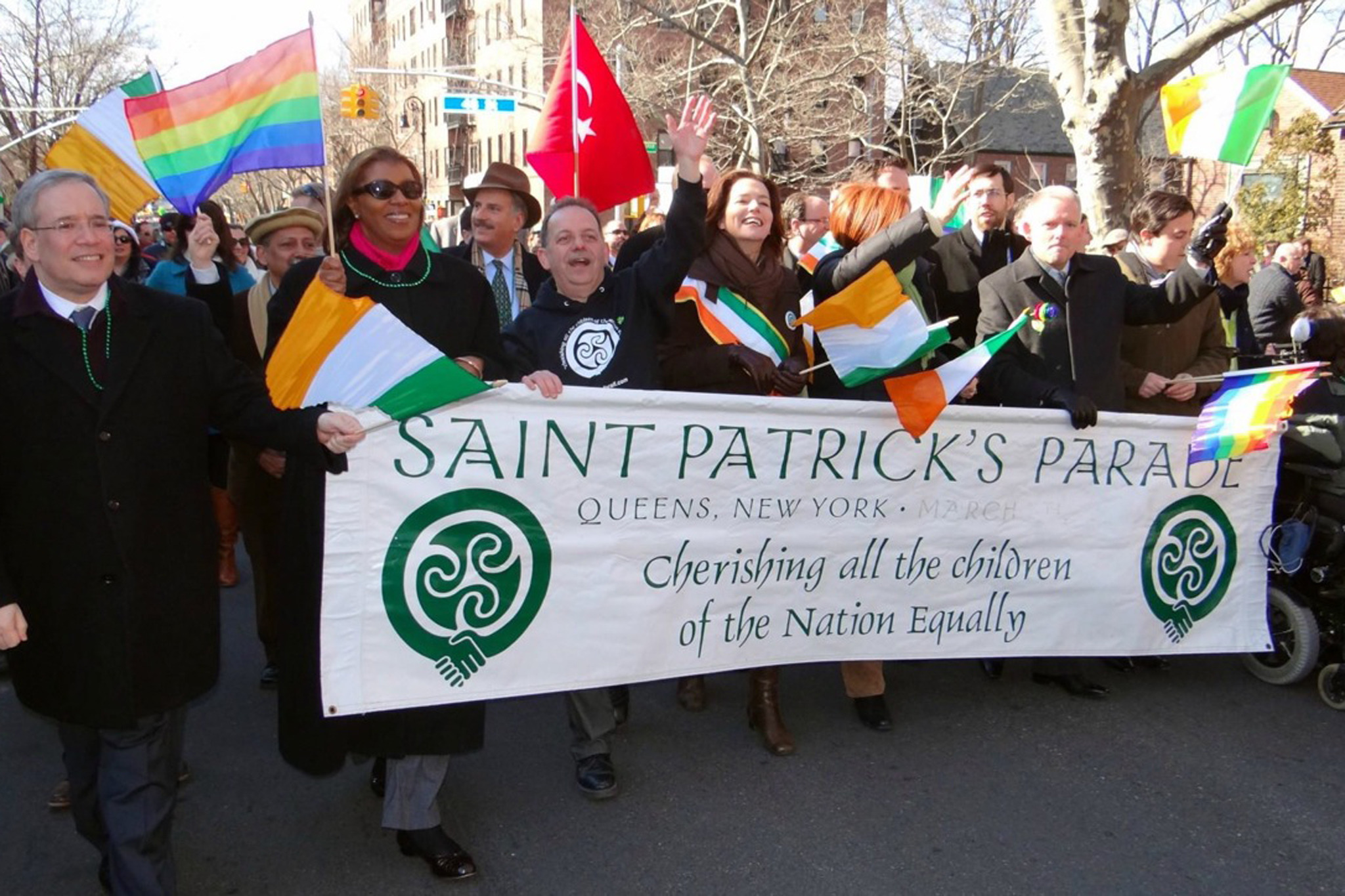 City Council joins De Blasio in skipping St. Patrick's Day Parade