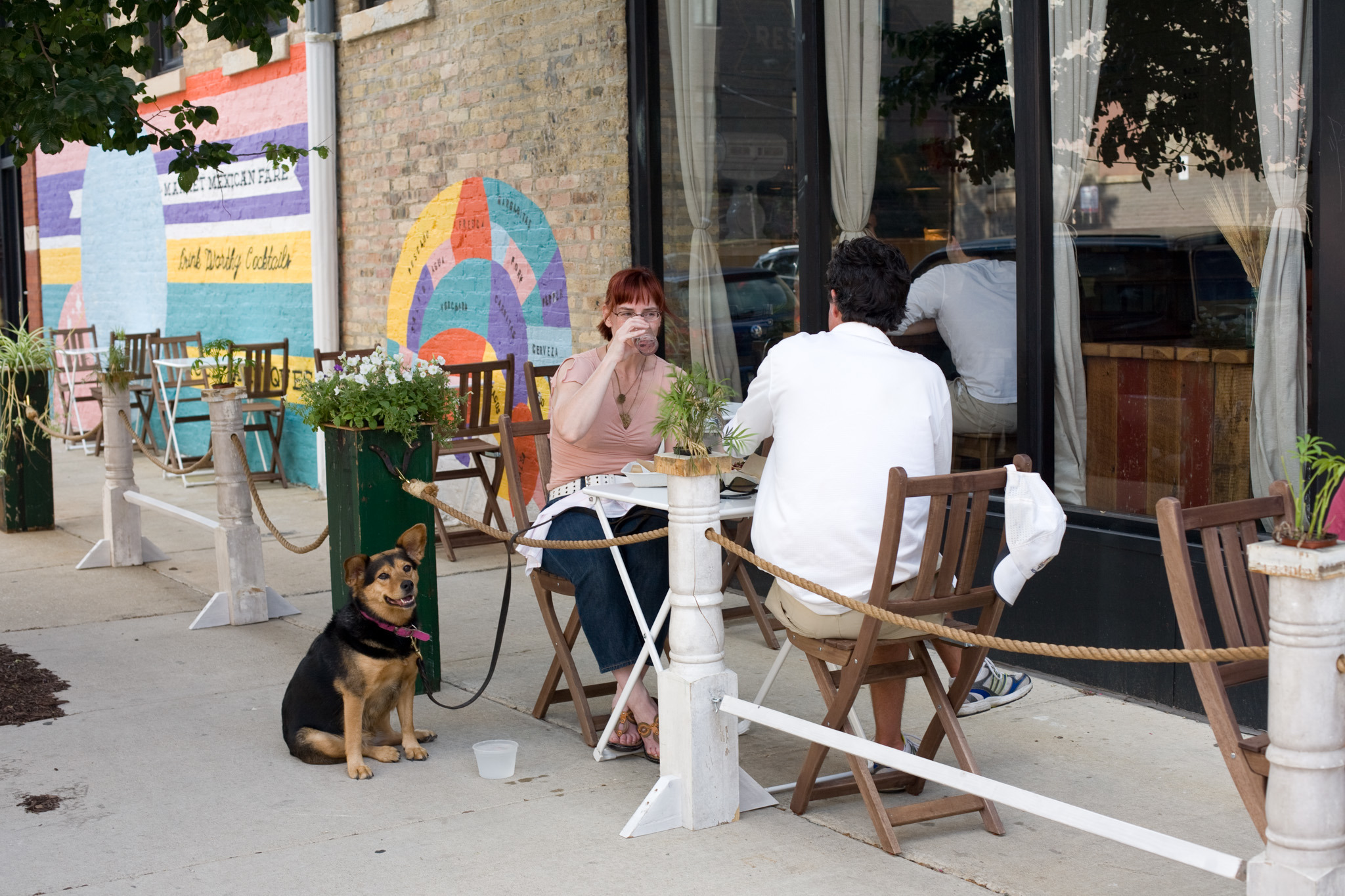 Dog-friendly patios in Chicago