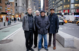 Left to right: Ben Street, Ethan Iverson, Billy Hart, Mark Turner