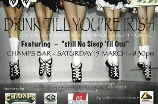 Drink Till You're Irish, Champs, Accra, Ghana
