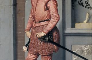 Giovanni Battista Moroni ( 'Gian Gerolamo Grumelli', c.1560)