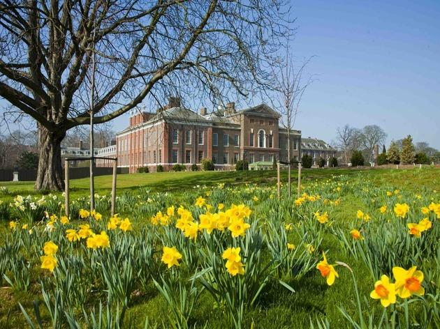 Kensington Palace Easter Egg Hunt
