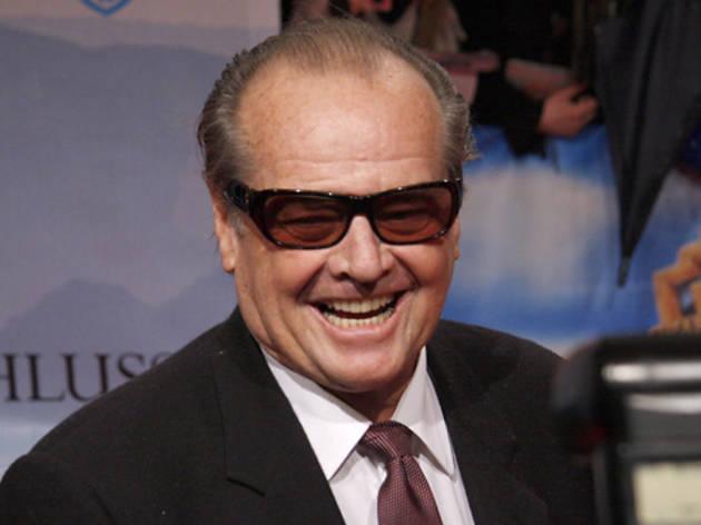 Jack Nicholson, red carpet
