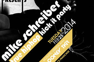 "Mike Schreiber ""True hip hop"" Kick it party"