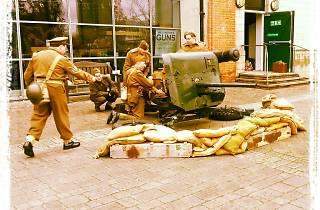 World War II Anti Tank Gun Firing