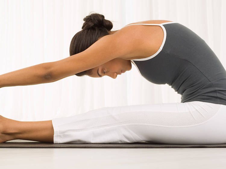 Clase magistral de hata yoga