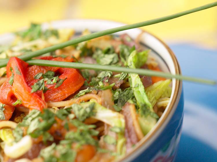Taller: Raw Food Asiática