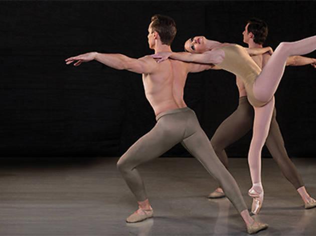 """Los Angeles Ballet dancers Allynne Noelle, Alexander Castillo and Christopher Revels in """"Return to a Strange Land"""""""
