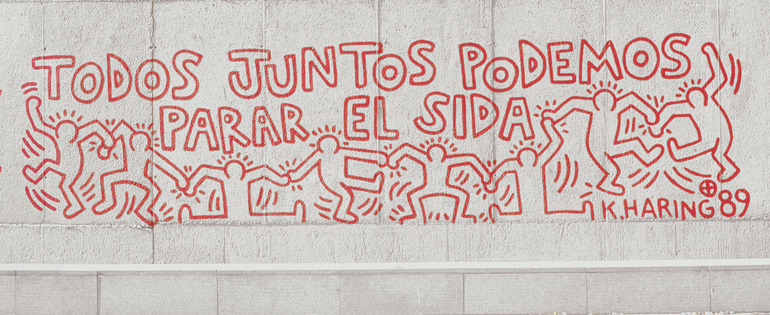 We Can Stop Aids, 1989 / Keith Haring (1958 – 1990)