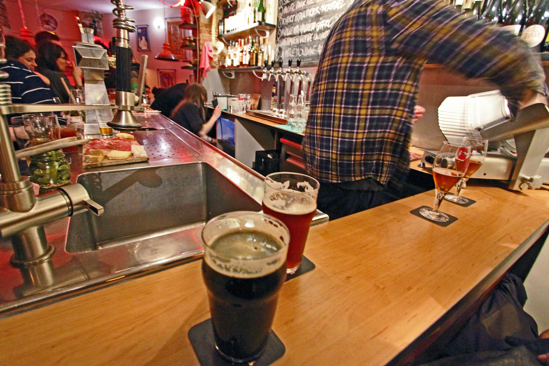 Bar les Trois Huit bière