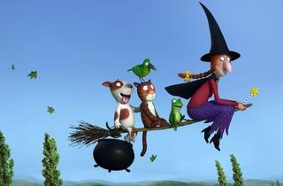 'Room on the broom' (de Max Lang et Jan Lachauer (25 min, Royaume-Uni))