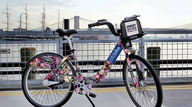 Xu Zhen's design for limited-edition Citi Bikes