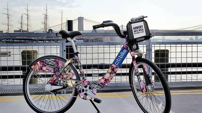 Xu Zhen's design for limited-edition Citi Bikes