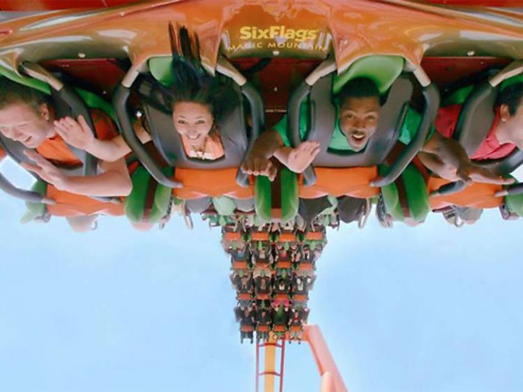 Six Flags Magic Mountain (temporary closure)
