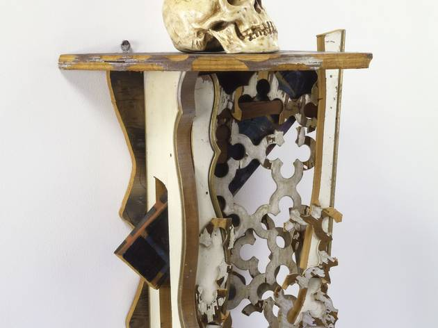 Haim Steinbach ('Shelf with Cookie Jar', 1982)