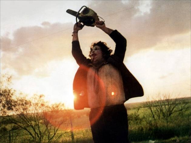 Night of Texas terror: The Cabin in the Woods + The Texas Chainsaw Massacre + You're Next + The Evil Dead + Surprise film