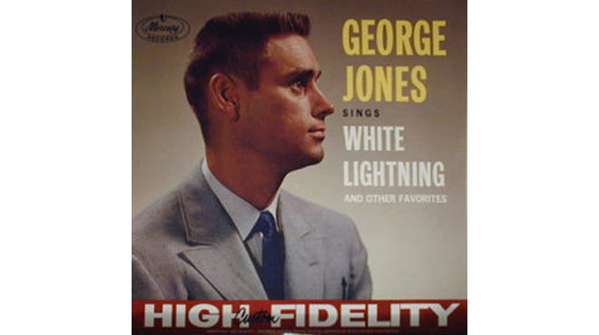 """White Lightning"" by George Jones"