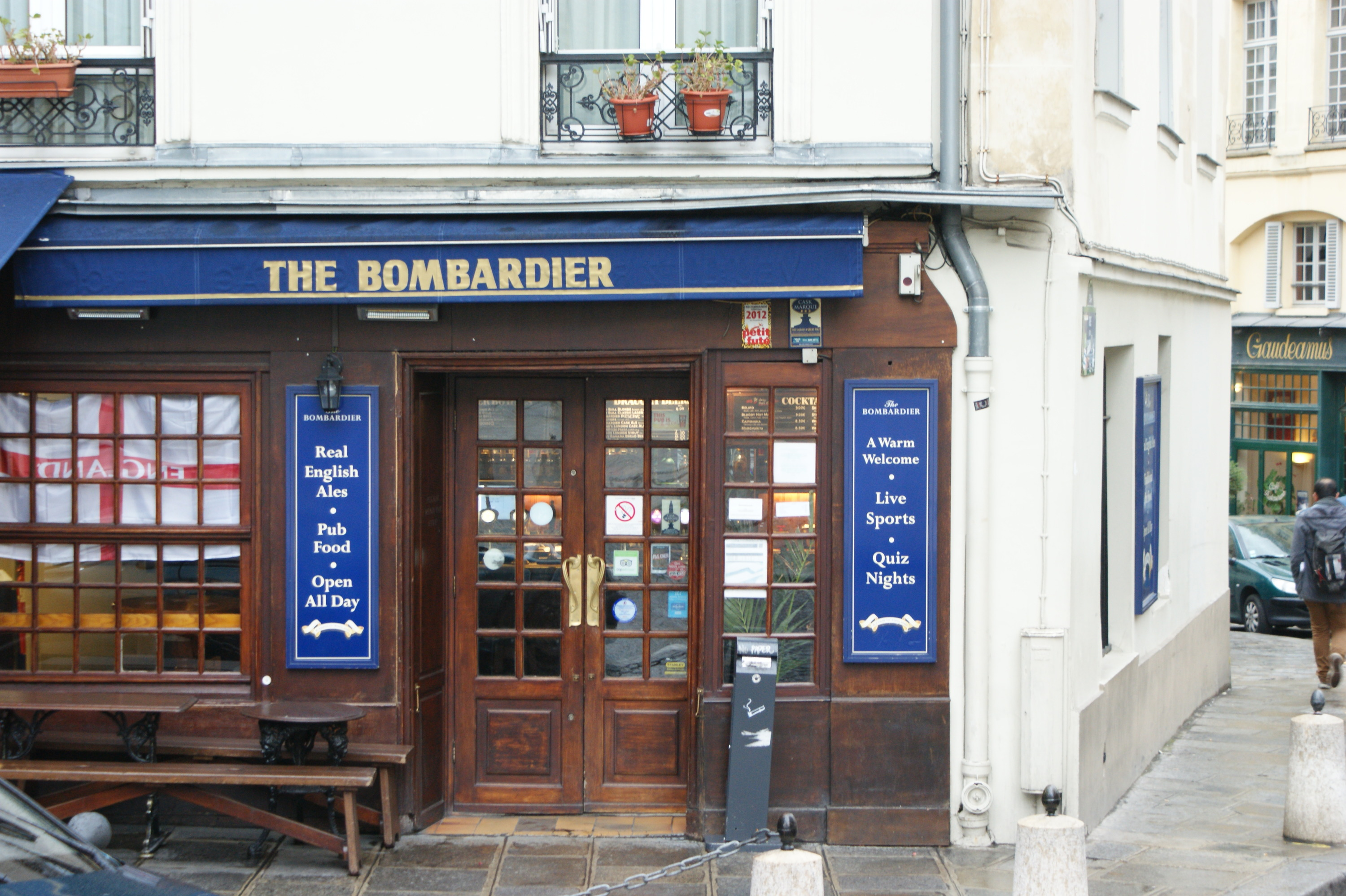 Bar • The Bombardier Pub
