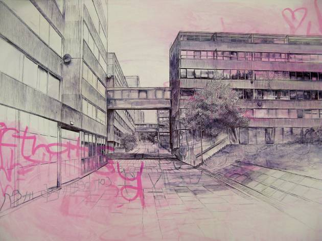 Laura Oldfield Ford, 'Ferrier Estate', 2010