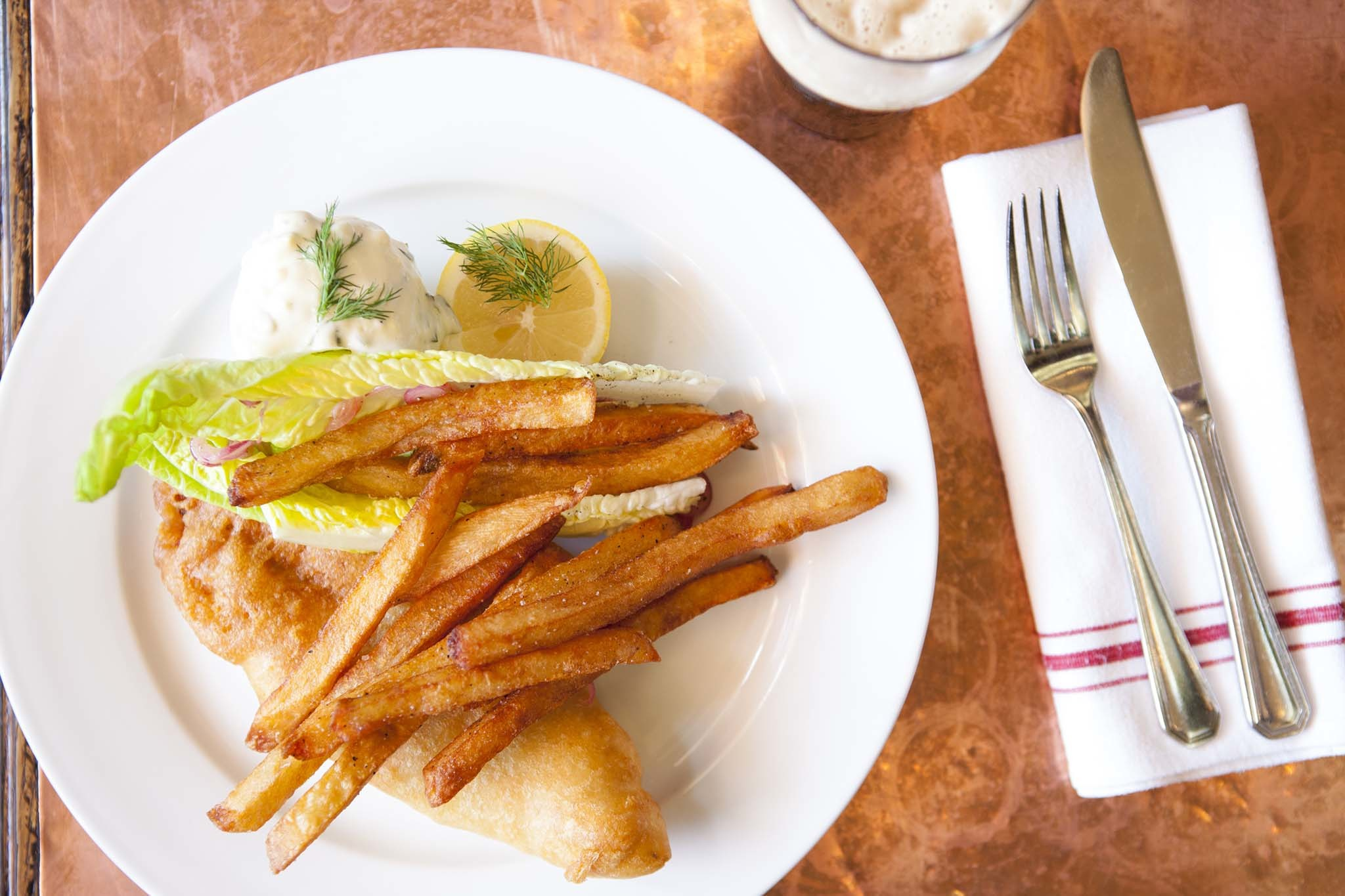 The best fish and chips restaurants