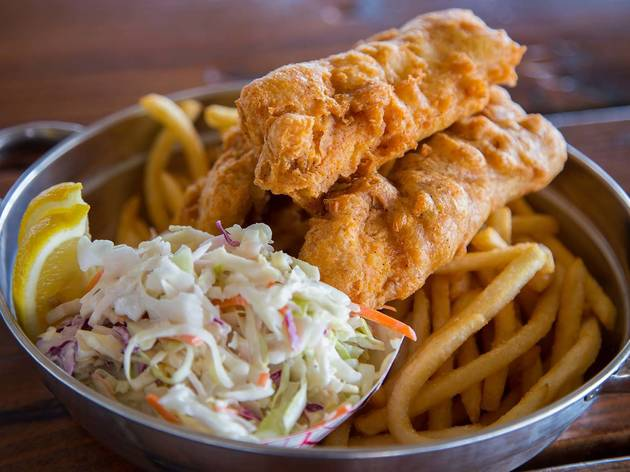 The Albright, Santa Monica Pier, Fish and Chips