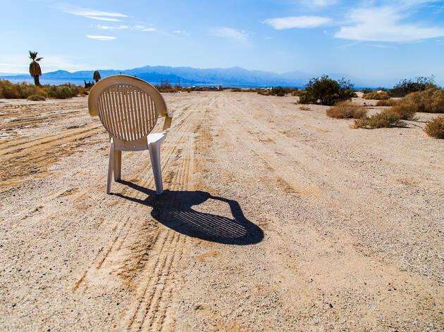 Salton Sea, Salvation Mountain, Slab City, California Desert