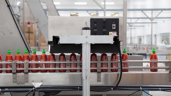 Sriracha factory tour