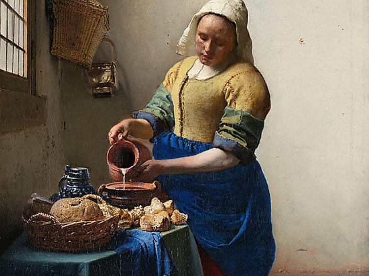'La Laitière' de Johannes Vermeer