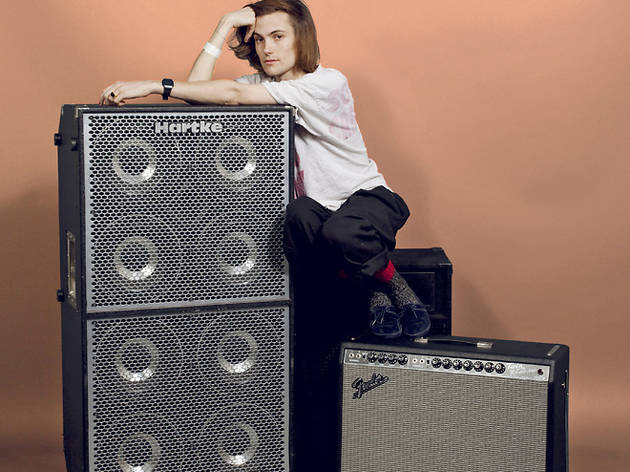 DIIV (Photograph: Melissa Sinclair; Speakers and amps courtesy Studio Instrument Rentals)