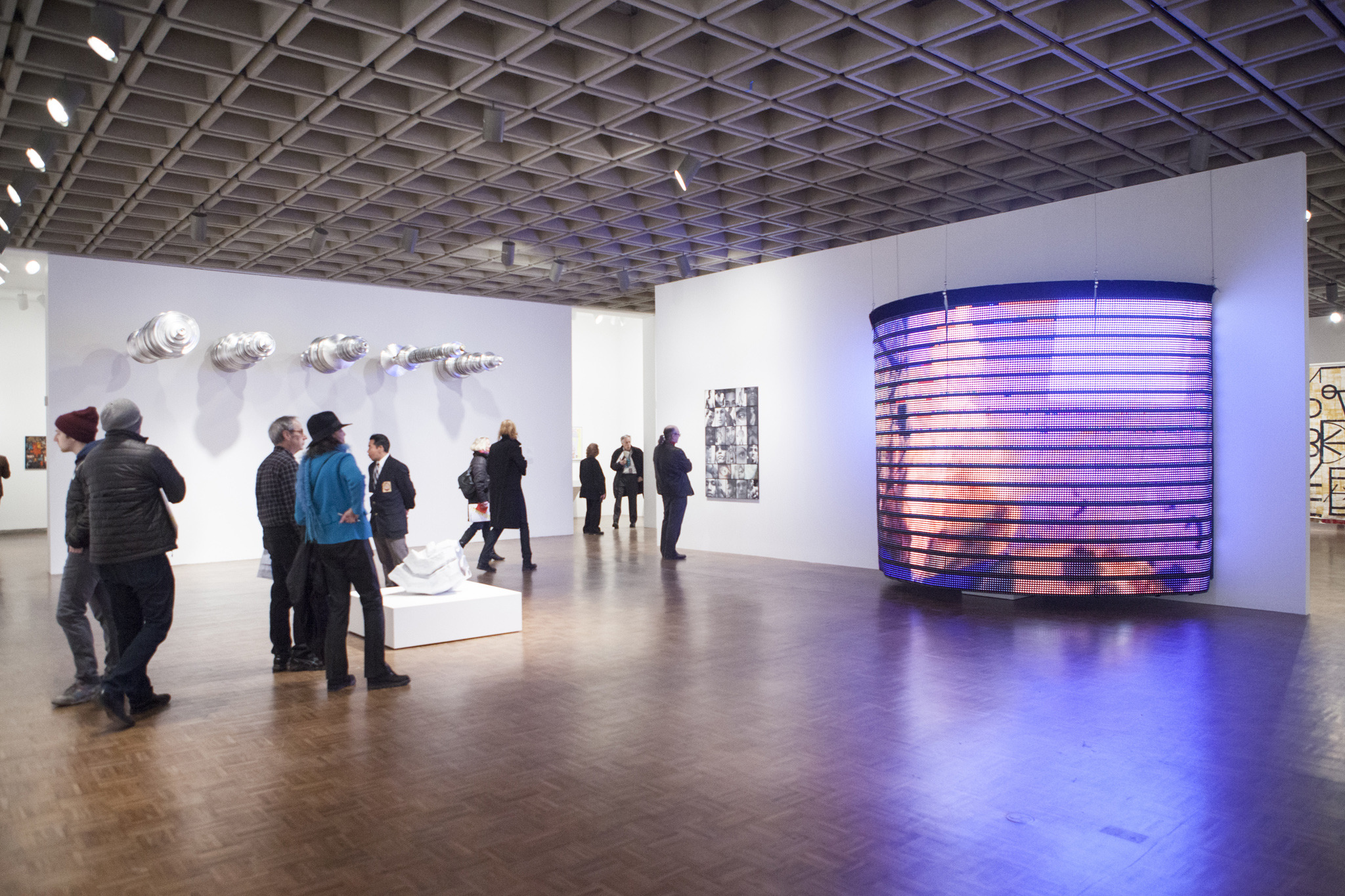 Installation view of the 2014 Whitney Biennial