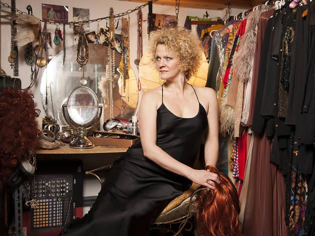 Cabaret singer Amber Martin