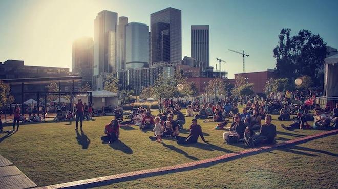 Grand Park Downtown Bookfest