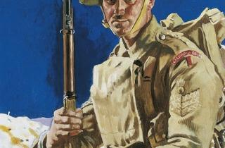 Sir William Orpen ('A Grenadier Guardsman', 1917,  © IWM )