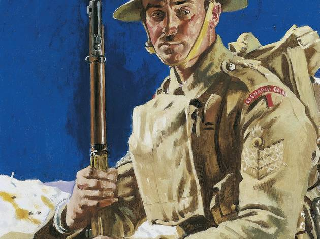 Sir William Orpen ('A Grenadier Guardsman', 1917,  © IWM )