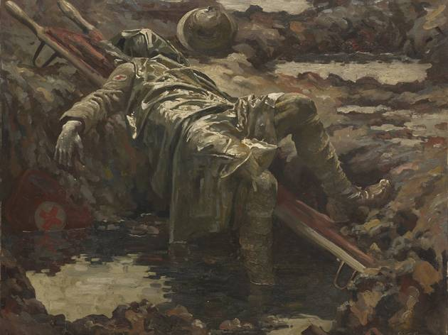 Gilbert Rogers ('The Dead Stretcher-Bearer', 1919, © IWM)
