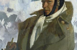 Sir William Orpen ('Self-portrait', 1917, © IWM)